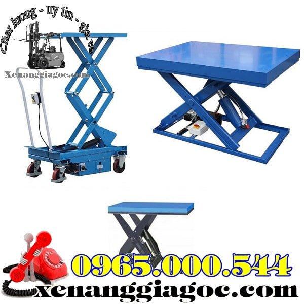thiết kế bàn nâng điện thủy lực