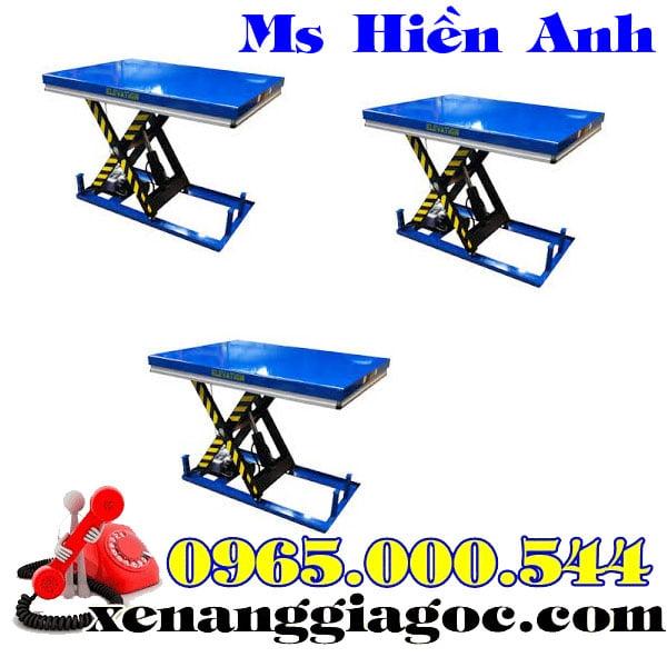 bàn nâng điện 1 tấn giá rẻ