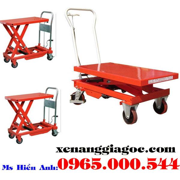 bàn nâng thủy lực 300 kg giá rẻ