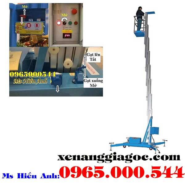thang nâng người 10 m giá rẻ chất lượng