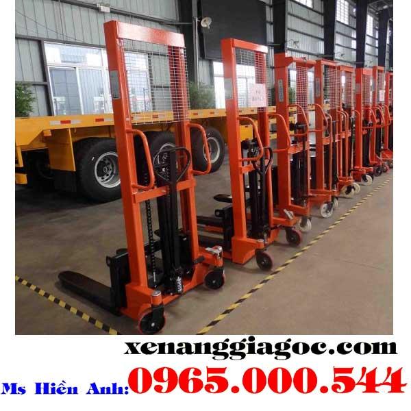 xe nâng tay cao 1 tấn giá rẻ tại Hà Nội