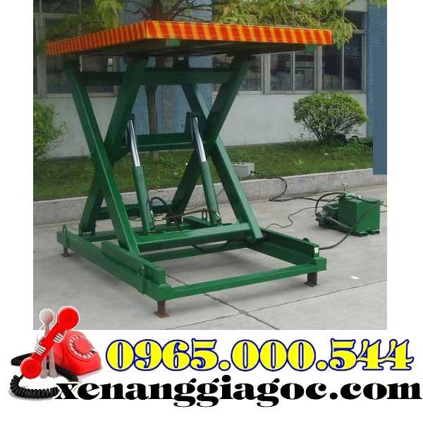 bàn nâng điện 2 tấn cao 1.7 m