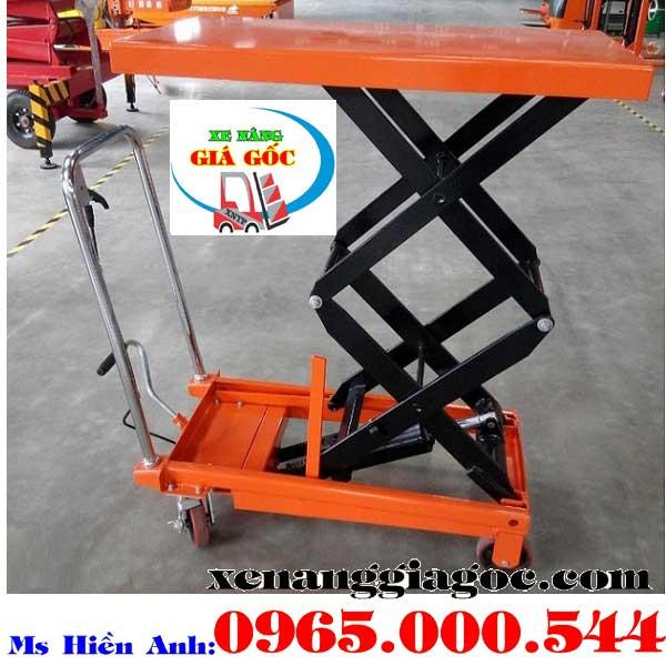 bàn nâng thủy lực 350 kg giá rẻ nhập khẩu