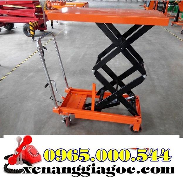 bàn nâng thủy lực 350 kg nhập khẩu