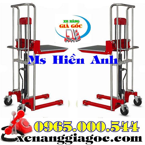 xe nâng tay cao mini 400 kg