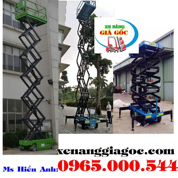 Thang nâng người 9 m tại Bắc Ninh