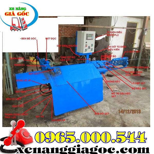 máy bẻ đai sắt xây dựng tại Hồ Chí Minh