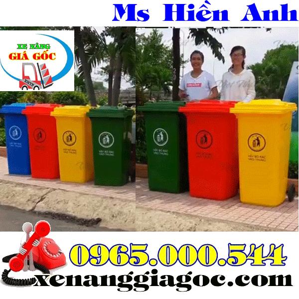 Mua thùng rác công cộng 240 lít
