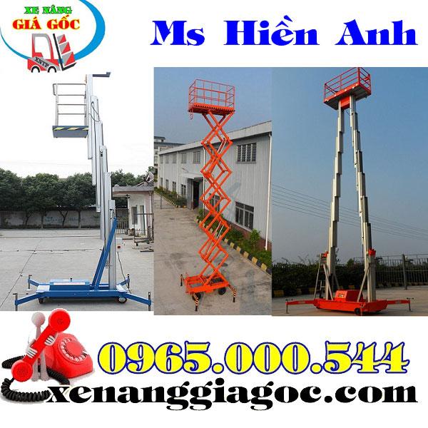 Thang Nâng Người Tại Quảng Bình 6m 9m 10m 12m 14m