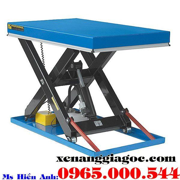 bàn nâng điện 1 tấn nhập khẩu