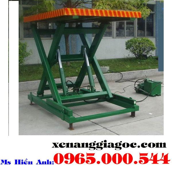 bàn nâng điện 3 tấn nhập khẩu