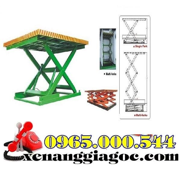 bàn nâng điện 4 tấn nhập khẩu