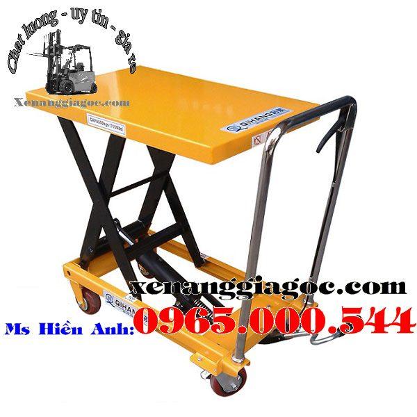 bàn nâng thủy lực 800 kg chất lượng