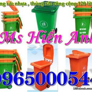 Thùng Rác Nhựa 120 Lít Nhập Khẩu Giá Cạnh Tranh Nhất.