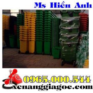 Thùng Rác Nhựa 240 Lít Nhựa HDPE Giá Tốt Cạnh Tranh.