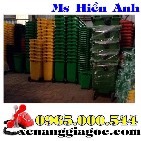 Thùng Rác Nhựa 240 Lít Nhập Khẩu