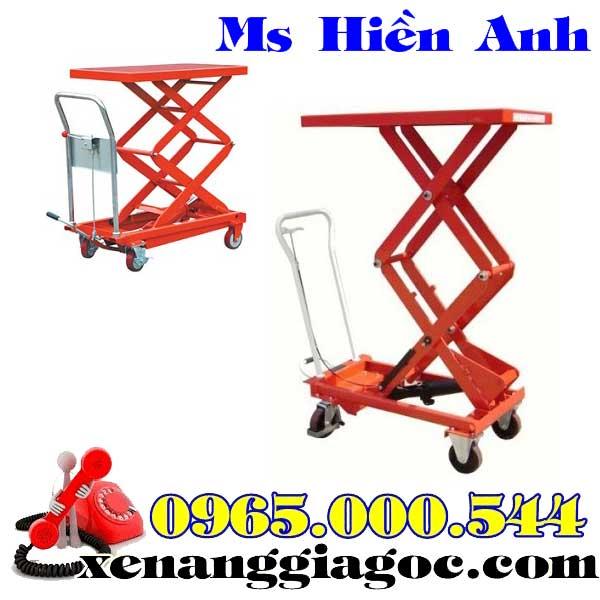 bàn nâng thủy lực 800 kg nâng cao 1.5 m giá rẻ