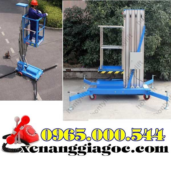thang nâng người 10 m giá rẻ nhất