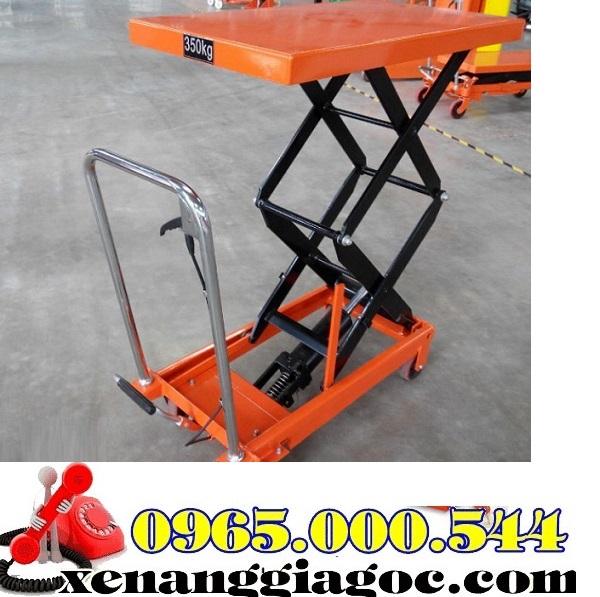 bàn nâng thủy lực 350 kg