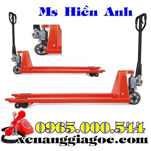 xe nâng tay siêu dài 1.8 mét giá rẻ