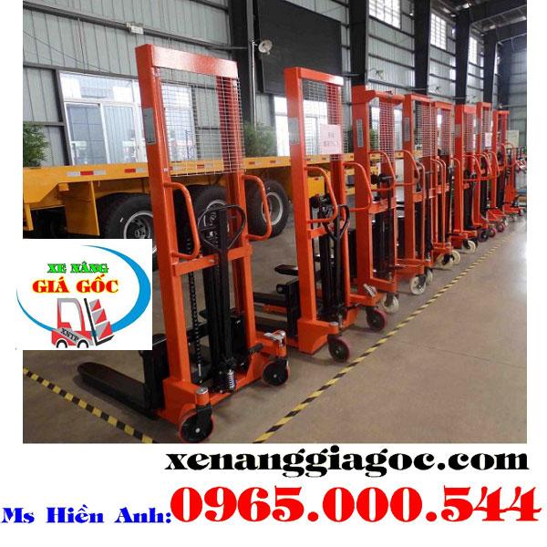 Giá xe nâng tay cao 1.5 tấn tại Hà Nội