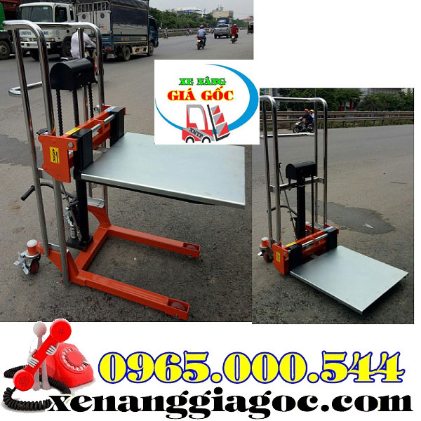 Mua Xe Nâng Tay Cao Mini 400 Kg