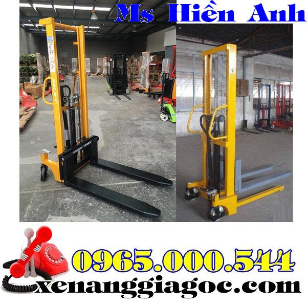 xe nâng tay cao 1 tấn 1.5 tấn