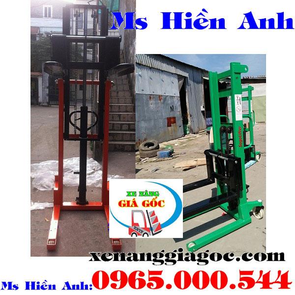 xe nâng tay cao 1 tấn tại Bắc Ninh giá rẻ