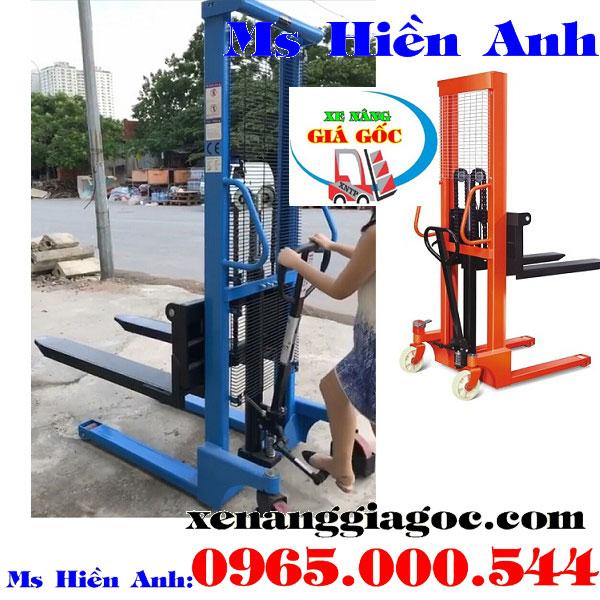 bán xe nâng tay cao tại Thanh Trì