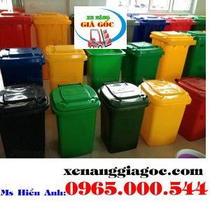 Thùng Rác Công Cộng Tại Hà Nội 100 Lít 120 Lít 240 Lít Giá Rẻ