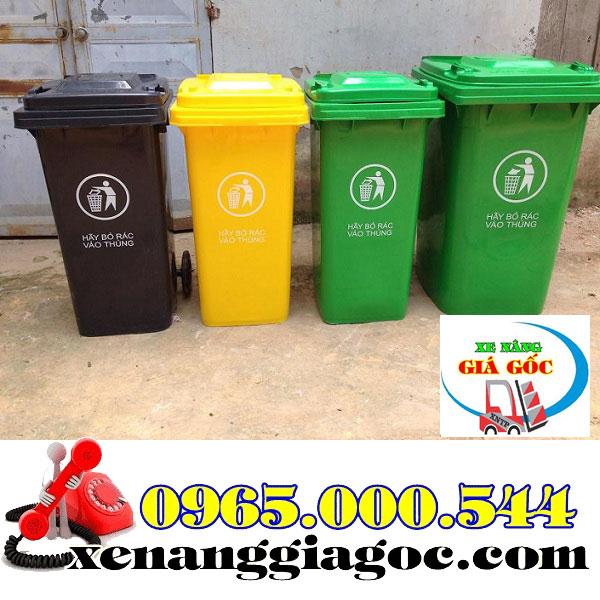 Thùng rác công cộng tại Hà Nội