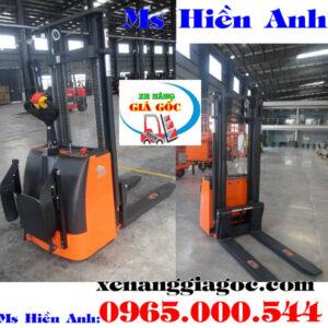 Xe Nâng điện đứng Lái Giá Rẻ Tại Hà Nội
