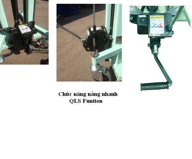 mua xe nâng tay cao mini OPK 400 kg