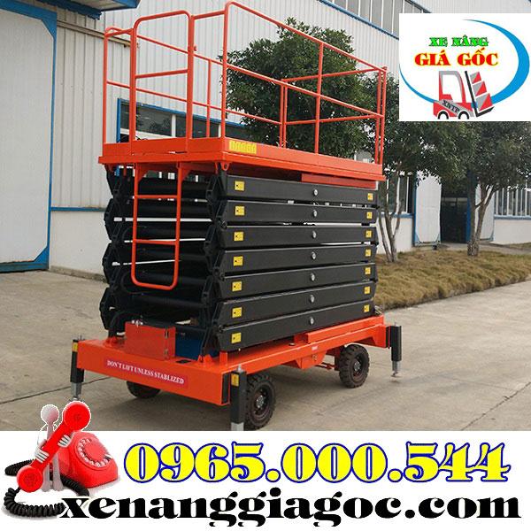 Xe Thang Nâng Người Làm Việc Trên Cao 6m 8m 9m 12m 14m.