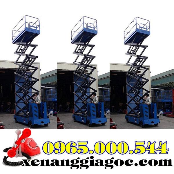 thang nâng người tự hành 14 mét giá rẻ nhất