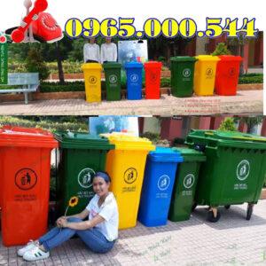 Bán Thùng Rác Nhựa HDPE Giá Rẻ