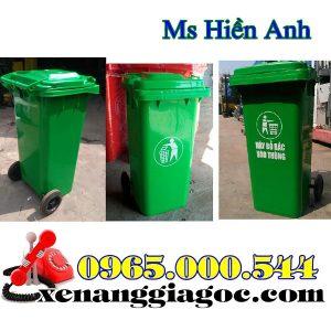 Giá Thùng Rác Nhựa 240 Lít