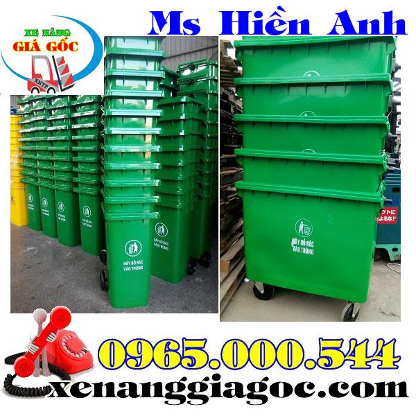 bán thùng rác công cộng