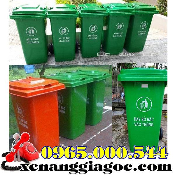 thùng rác công nghiệp 120 lít 240 lít 660 lít