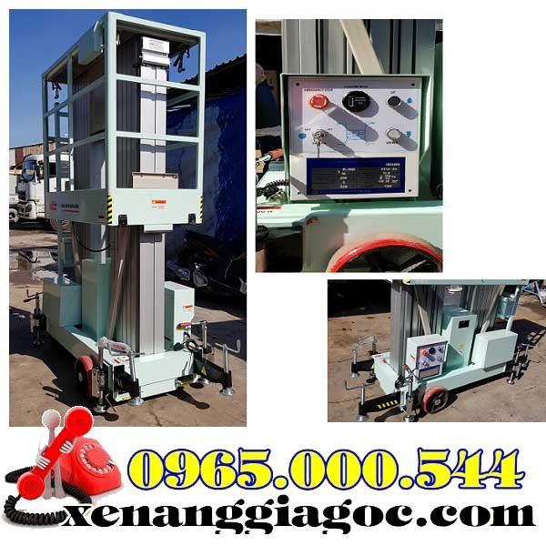 thang nâng điện 12m 2 trục nâng giá rẻ