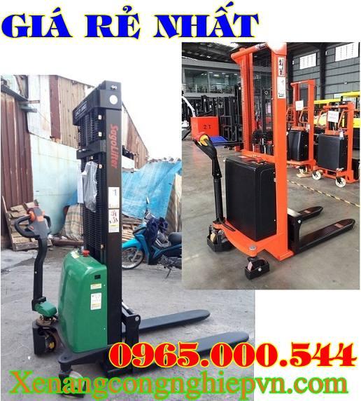 xe nâng điện đứng lái tại Bắc Ninh 1 tấn 1.5 tấn 2 tấn