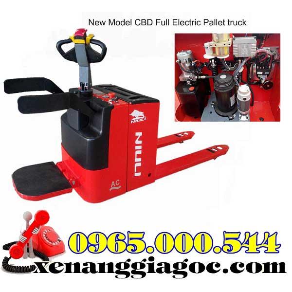 bán xe nâng điện thấp 3 tấn
