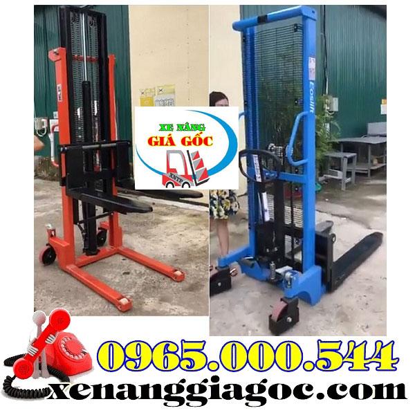 mua xe nâng tay cao tại Quảng Ninh