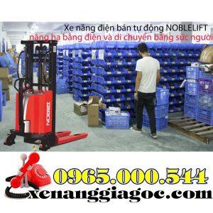 Xe Nâng Bán Tự động Noblelift 1.5 Tấn 3m SPN1530 Chính Hãng.
