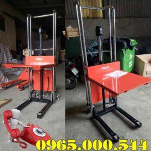 xe nâng bán tự động mini 400kg Noblelift