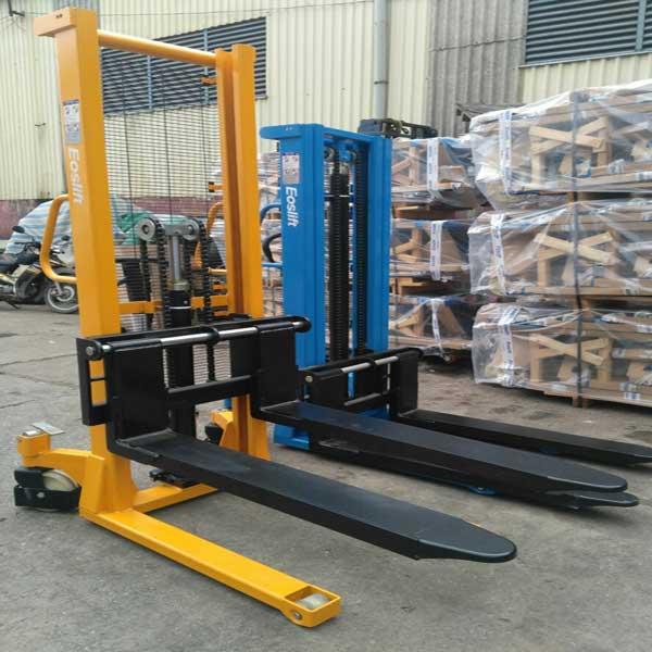 bán xe nâng tay cao 2 tấn Eoslift nhập khẩu