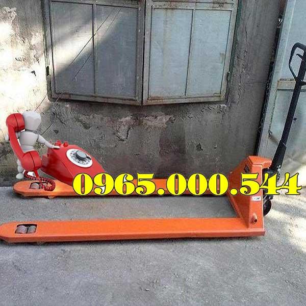 xe nâng tay 3 tấn càng dài 1.8m giá rẻ