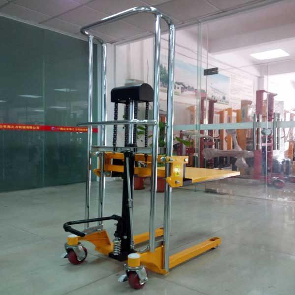 Xe Nâng Tay Cao Mini 400kg 1.5m