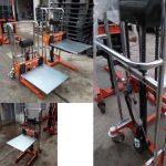 Xe Nâng Tay Cao Mini 400kg 1.3 Mét Nhập Khẩu Giá Rẻ