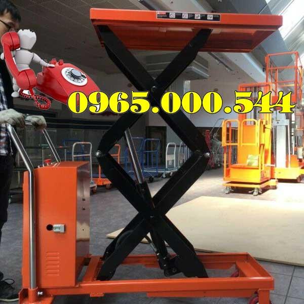 bàn nâng điện 1 tấn 1.7m NiuLi